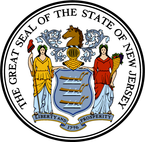State of New Jersey Seal