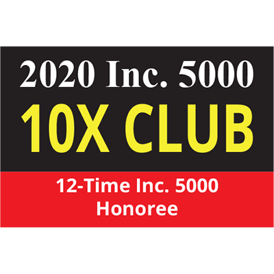 12-Time Inc. 5000 Honoree